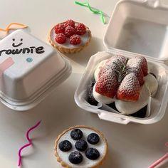 Think Food, I Love Food, Good Food, Yummy Food, Delicious Fruit, Tasty, Kawaii Cooking, Aesthetic Food, Cafe Food