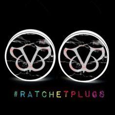 Black Veil Brides Plugs by RatchetPlugs on Etsy, $13.00