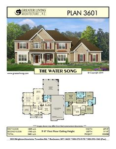 Plan 3601: THE WATER SONG  ~ Great pin! For Oahu architectural design visit http://ownerbuiltdesign.com