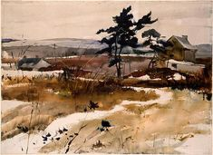 Brandywine Valley by Andrew Wyeth