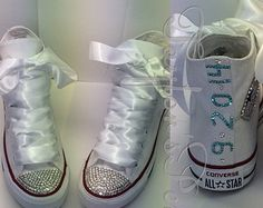 wedding sneakers on Etsy, a global handmade and vintage marketplace.