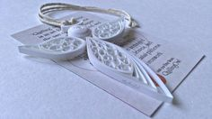 Quilled Angel 2 by QuillingOwl on Etsy, €10.50