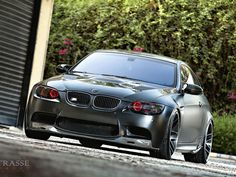 Frozen Black BMW M3 with 625hp from Saudi Arabia