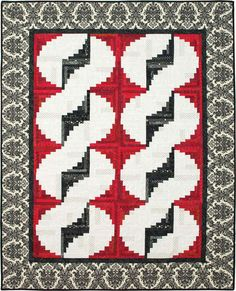 Curvy Log Cabin Quilts - Softcover By Wright, Jean Ann