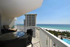 Silver Shells St. Croix 1003. 3 Bedroom, 2 Bathroom Gulf-Front Condo. Sleeps 8. Located in Destin, Florida and professionally managed by Compass Resorts.