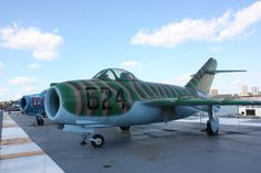 Mig 17. Luis MC Intrepid Museum, Fighter Jets, Aircraft, Vehicles, Aviation, Car, Planes, Airplane, Airplanes