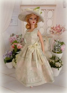 Maison de Jade for Silkstone Barbie vintage by Rosedollhouse