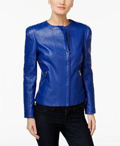 311e8e51ebe INC International Concepts Faux-Leather Moto Jacket