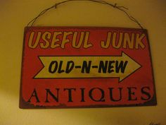 Everyone needs useful junk!