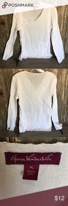 Shirt Good condition Gloria Vanderbilt Tops