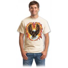 Tricou conservat Eagle Rock, Mens Tops, T Shirt, Women, Fashion, Supreme T Shirt, Moda, Tee Shirt, Fashion Styles