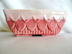 Vintage Pink Planter California Pottery by RanchVintage on Etsy, $20.00