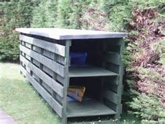 kayak storage shed - Bing images