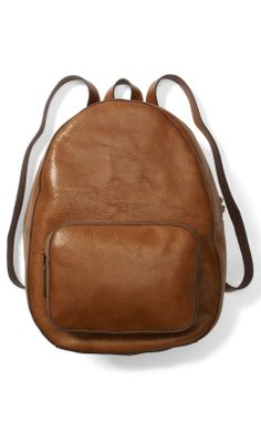Tompkins Leather Backpack - Club Monaco Bags - Club Monaco