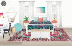 View this Bohemian, Coastal, Preppy Bedroom design from Havenly interior designer Amanda. Shop products and even get started designing your own space. Havenly, Luxurious Bedrooms, Preppy Room, Dream Spaces, Home Decor, Room, Coastal Interiors Design, Room Design, Coastal Bedroom