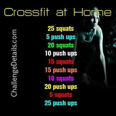 So starting this! Need a new routine :) I think it would help with strong legs for snowboarding and hockey! Look out :p