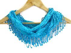 summer fashion scarvesnew scarf trendsblue by scarvesCHIC on Etsy, $15.90