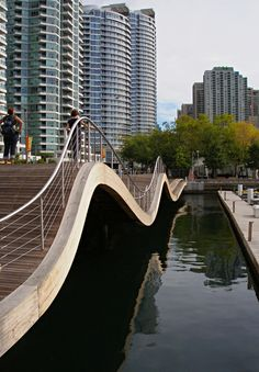 Simcoe Wave Deck by West 8, Toronto Waterfront: Gorgeous and unexpected and surprisingly easy to walk on!
