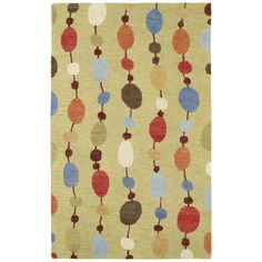 Hand-tufted Manhattan Strings Rug (5' x 7'6) - Overstock™ Shopping - Great Deals on 5x8 - 6x9 Rugs