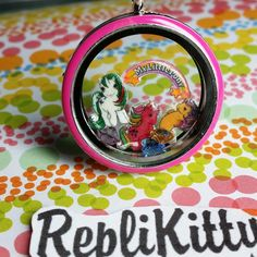 How to take your ponies EVERYWHERE! Get a custom locket made with your favorite ponies! You can even get charms made of your actual ponies! EVEN IF THEY ARE CUSTOM PONIES! Perfect to wear to conventions! Show off your work in a tiny locket! You can even trade ponies for custom jewelry! Available by request at www.replikitty.etsy.com #pony #mlp #mlpg1 #mlpg2 #mlpg3 #mlpg4 #friendshipismagic #seaponies #ponydisplay #diy #convention #custompony #customization #jewelry #locket #vintagetoys