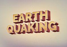 Earth Quaking Text Effect - http://grapehic.com/earth-quaking-text-effect/photoshop/psd