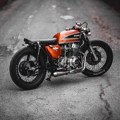 1975 CB750 by Mike Salek  Photography by Sam Orr