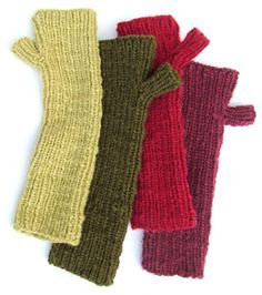 You'll long for these long WristWarmers for fall!