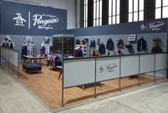 Original Penguin Tempts Bread & Butter Show with Fall/Winter 2013 Collection