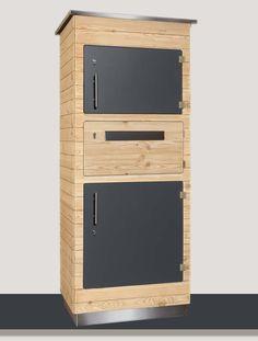 Paketbriefkasten aus Holz