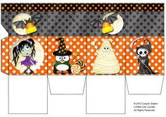 Digital Milk Carton Halloween 002 by CooperStation on Etsy