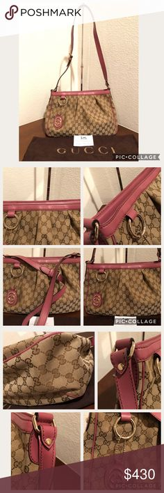f1a2a9608a84 gucci sukey canvass messenger bag 296834 preloved in mint condition. all  pipings are intact. canvass is intact