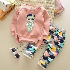$9.89 (Buy here: https://alitems.com/g/1e8d114494ebda23ff8b16525dc3e8/?i=5&ulp=https%3A%2F%2Fwww.aliexpress.com%2Fitem%2FBaby-boys-clothing-2016-New-Winter-and-Autumn-Cartoon-long-sleeve-t-shirt-casual-long-pants%2F32773525496.html ) Baby boys clothing 2016 New Winter and Autumn Cartoon long sleeve t-shirt + casual long pants 2pc suit kids  for just $9.89
