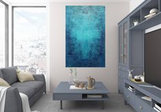 The Heart of the ocean – XL blue abstract painting Blue Abstract Painting, Acrylic Painting Canvas, Abstract Paintings, Ocean Heart, Ocean Canvas, White Texture, Abstract Styles, Acrylics, Figurative