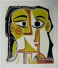 Gestileerd portret van Jacqueline, Pablo Picasso, 1962 | Museum Boijmans Van Beuningen