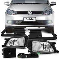 #Kit Farol De Milha Com Moldura Preta #Volkswagen #Gol G6 20013 A 2014 - Volyage 2013 A 2014 | MMPARTS  Peças e Acessórios para seu Carro-> MMParts.com.br