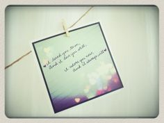 Nielsen Park Weddings Love Note