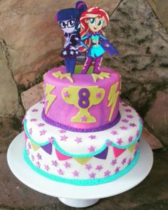 Equestria girls Cake by Virginia Ugel