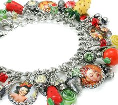 Fruit Jewelry   Fruit Bracelet  Carmen by BlackberryDesigns