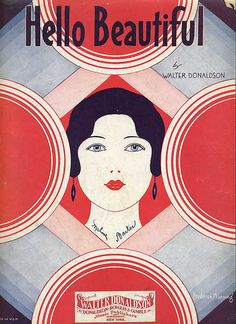 1931, Art Deco cover sheet music