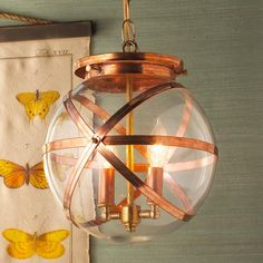Steam Punk Indoor and Outdoor Hanging Lantern This steampunk glass globe drops down from cap for access to bulbs for bulb changes. UL rated for damp locations. Porch Lanterns, Outdoor Ceiling Lights, Outdoor Hanging Lanterns, Hanging Ceiling Lights, Porch Lighting, Outdoor Lighting, House Lighting, Exterior Lighting, Lighting Ideas