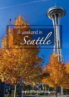 A Weekend in Seattle – BIG tiny World Travel Places To Travel, Places To Visit, Travel Destinations, Seattle Japanese Garden, Kelly Park, Travel Usa, Travel Tips, Travel Ideas, Underground Tour