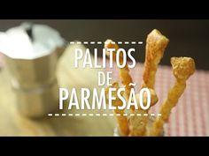 Como Fazer Palitos de Parmesão | Receita Fácil - Gourmet a Dois - YouTube