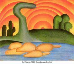 Tarsila do Amaral (1886 - 1973) - Sun, 1929