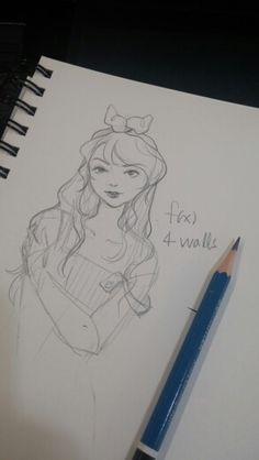 F(x) Luna Fan art