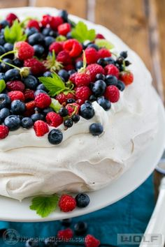 I LOVE THIS DESSERT! Grateful to a tiny church in Ireland for introducing me to this incredible food. A step-by-step guide to master the pavlova; a simple and beautiful special occasion cake from Baking Recipes, Cake Recipes, Dessert Recipes, Food Cakes, Cupcake Cakes, Cupcakes, Just Desserts, Delicious Desserts, Trifle Desserts