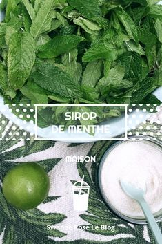 Fresh Mint, Fresh Green, Coffee Cafe, Coffee Drinks, Cocktails, Quick Easy Meals, Healthy Drinks, Cooking Time, Syrup