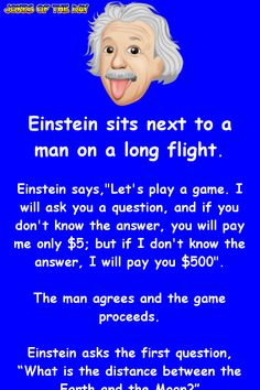 Einstein is baffled by this mans quizzical question - Clean Funny Joke – Einstein is baffled by this man question Informations About Einstein is baffled - Funny Long Jokes, Clean Funny Jokes, Funny Riddles, Funny Poems, Funny Jokes For Adults, Funny Quotes, 9gag Funny, Clean Jokes For Kids, Funny Cartoons For Kids