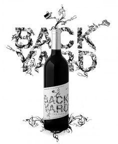 Backyard Wine | 'Otras 101 etiquetas de botellas de vino... (2ª parte)' by @Recetum