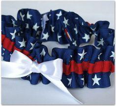 September 16 - 22, 2012  Featuring Patriotic Weddings    the garter girl patriotic