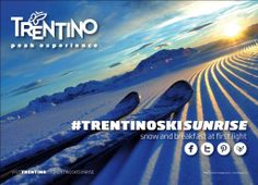 Trentino Ski Sunrise: in Trentino puoi sciare fin dall'alba Wellness Spa, Blog Sites, One Light, Skiing, Sunrise, About Me Blog, Snow, Alba, Instagram
